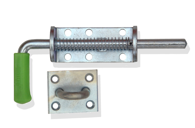 12MM SLAM LATCH WITH KEEPER/STAPLE